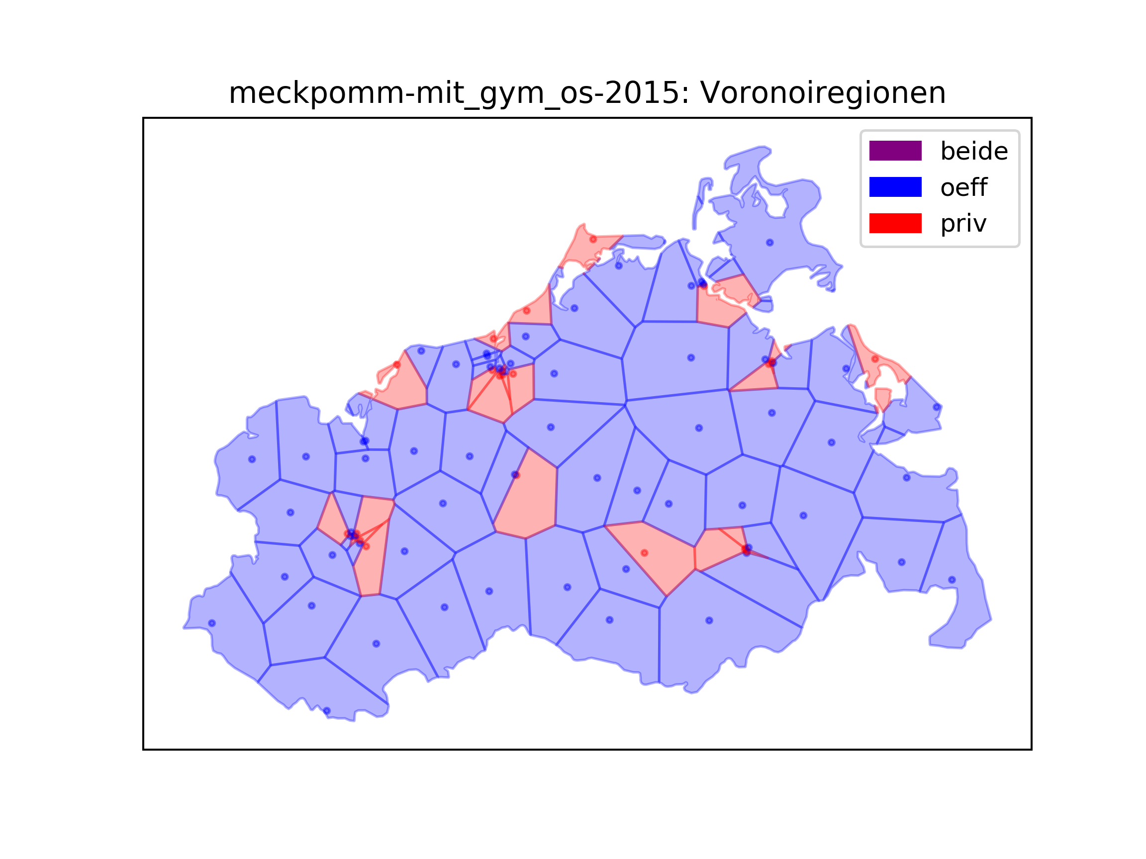 Lab report: Development of school sites in eastern Germany