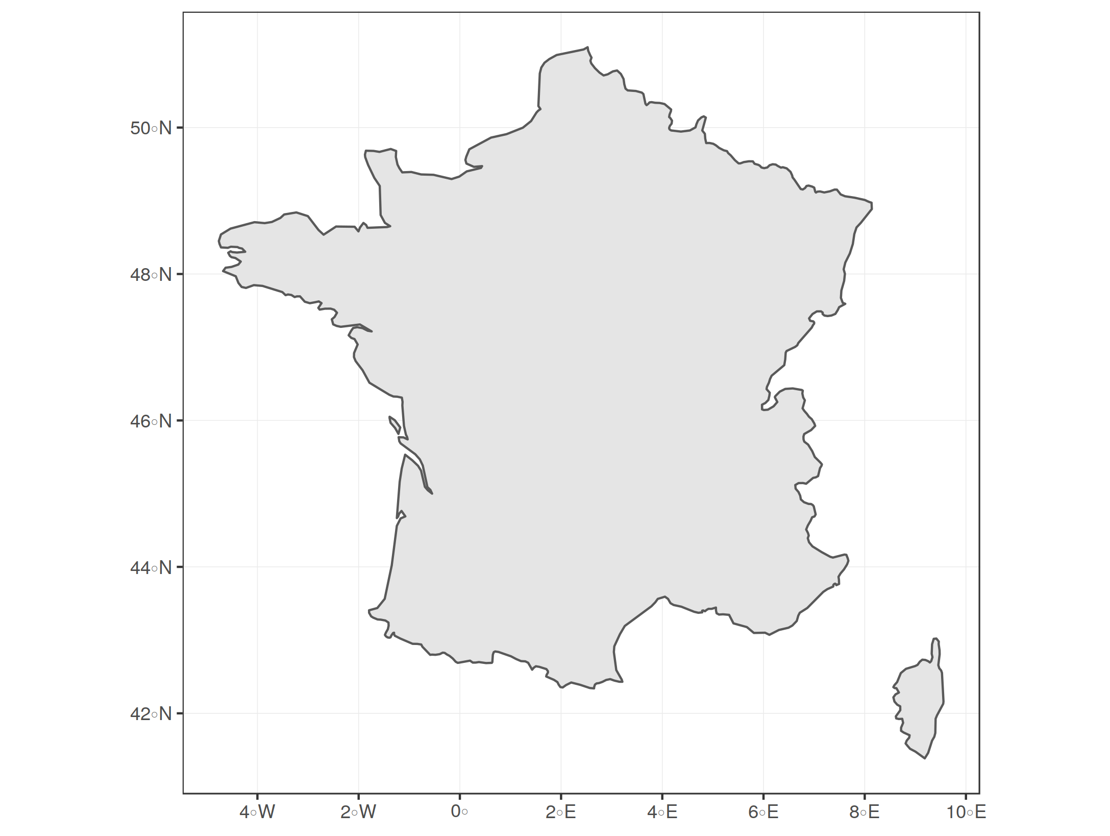 Zooming in on maps with sf and ggplot2 | R-bloggers
